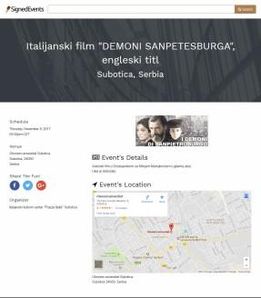 0911 - signedevents.com - Italijanski film Demoni Sanpetersburga
