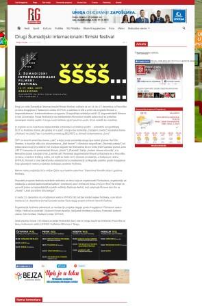 1112 - ritamgrada.rs - Drugi Sumadijski internacionalni filmski festival
