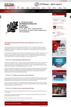 1212 - atastars.rs - Sumadijski internacionalni filmski festival odrzace se od 14. do 17. decembra