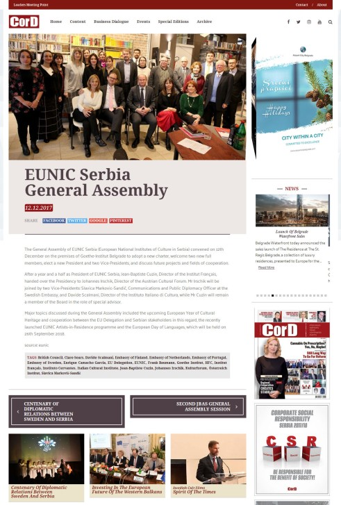 1212 - cordmagazine.com - EUNIC Serbia General Assembly