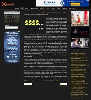 1212 - izlazak.com - 2. Sumadijski internacionalni filmski festival SIFF