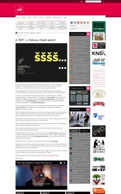 1212 - seecult.org - 2. SIFF u fokusu mladi autori
