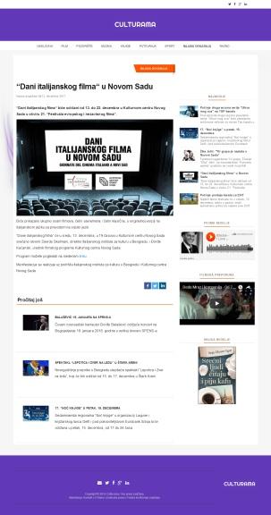 1312 - culturama.rs - Dani italijanskog filma u Novom Sadu