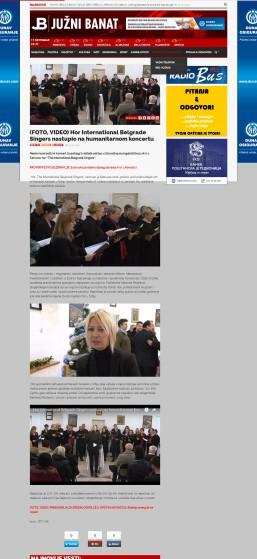 1312 - juznibanat.rs - Hor International Belgrade Singers nastupio na humanitarnom koncertu