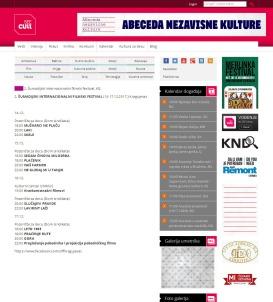 1412 - seecult.org - 2. Sumadijski internacionalni filmski festival, KG