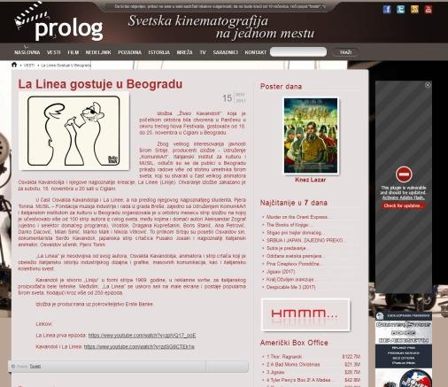 1511 - prolog.rs - La Linea gostuje u Beogradu