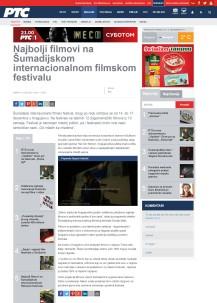 1612 - rts.rs - Najbolji filmovi na Sumadijskom internacionalnom filmskom festivalu