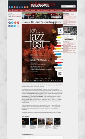 1910 - balkanrock.com - Uskoro 18. JazzFest u Kragujevcu