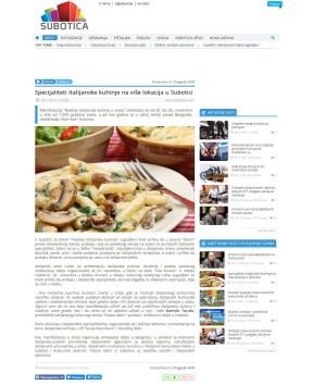 1911 - subotica.com - Specijaliteti italijanske kuhinje na vise lokacija u Subotici
