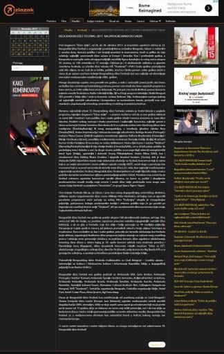 2011 - izlazak.com - BEOGRADSKI DZEZ FESTIVAL 2017. NAJPROGRESIVNIJI DO SADA