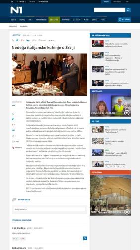 2011 - rs.n1info.com - Nedelja italijanske kuhinje u Srbiji