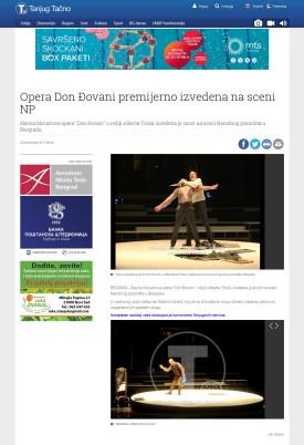 2311 - tanjug.rs - Opera Don Djovani premijerno izvedena na sceni NP