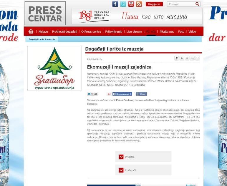 2510 - presscentar.uns.org.rs - Ekomuzeji i muzeji zajednica