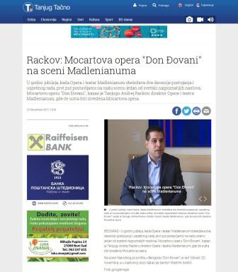 2711 - tanjug.rs - Rackov- Mocartova opera Don Djovani na sceni Madlenianuma