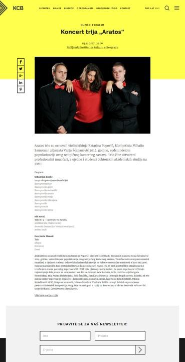 2809 - kcb.org.rs - Koncert trija Aratos