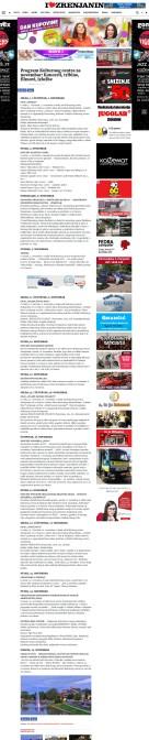 3010 - ilovezrenjanin.com - Program Kulturnog centra za novembar