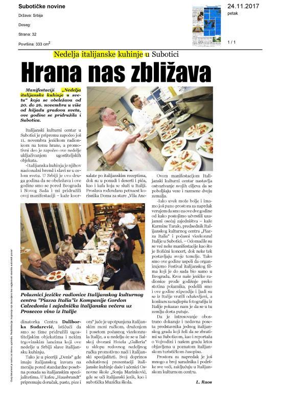 Suboticke novine 24 11 2017 Hrana nas zbližava-page-001