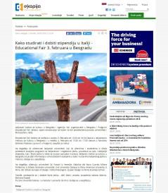 3001 - ekapija.com - Kako studirati i dobiti stipendiju u Italiji - Educational Fair 3. februara u Beogradu