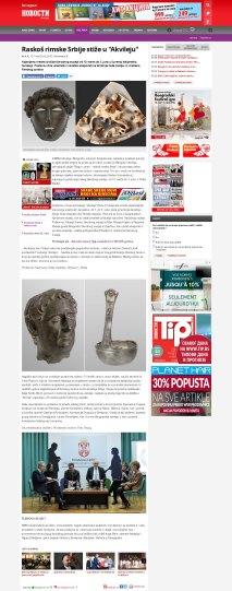 0703 - novosti.rs - Raskos rimske Srbije stize u Akvileju