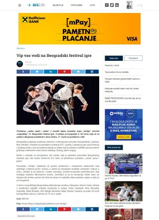 1503 - bizlife.rs - Vip vas vodi na Beogradski festival igre