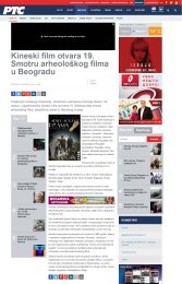 1503 - rts.rs - Kineski film otvara 19. Smotru arheoloskog filma u Beogradu