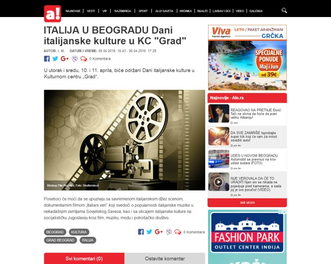 0604 - alo.rs - Dani italijanske kulture u KC Grad