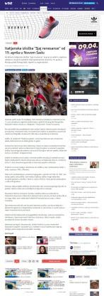 0904 - b92.net - Italijanska izlozba Sjaj renesanse od 19. aprila u Novom Sadu
