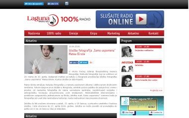 1004 - radiolaguna.rs - Aktuelno- Izlozba fotografija Samo uspomena Matea Djirole