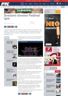 1703 - rts.rs - Svecano otvoren Festival igre