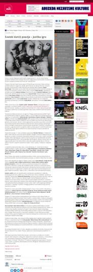 2003 - seecult.org - Svetski dan(i) poezije GÇô Jezicke igre