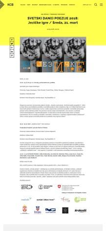 2103 - kcb.org.rs - SVETSKI DAN(I) POEZIJE 2018- Jezicke igre - Sreda, 21. mart