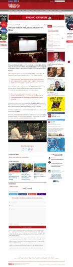 2204 - juznevesti.com - Pocinje ciklus italijanskih filmova u Nisu