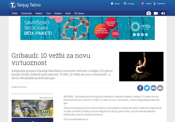 2403 - tanjug.rs - Gribaudi- 10 vezbi za novu virtuoznost