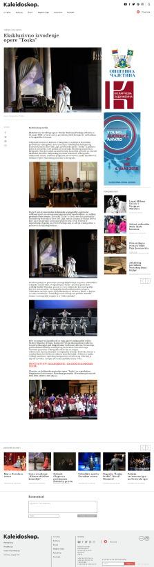 2404 - kaleidoskop-media.com - Ekskluzivno izvodjenje opere Toska