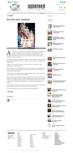 2604 - politika.rs - Novi zivot opere Pepeljuga