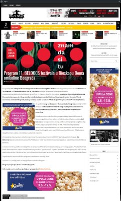0405 - trecisvijet.com - Program 11. BELDOCS festivala u Bioskopu Doma omladine Beograda