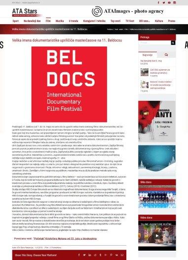 0605 - atastars.rs - Velika imena dokumentaristike uprilicice mastercasove na 11. Beldocsu