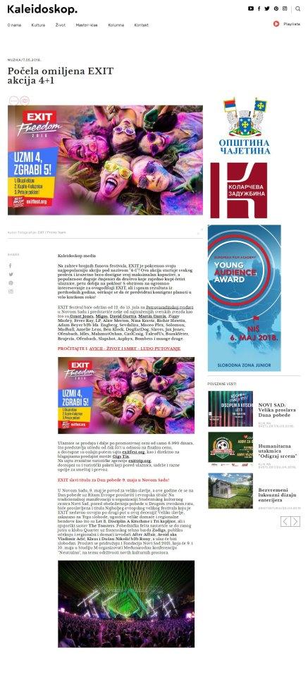 0705 - kaleidoskop-media.com - Pocela omiljena EXIT akcija 4+1