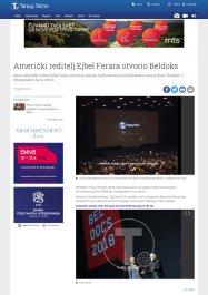 0705 - tanjug.rs - Ejbel Ferara otvorio Beldoks