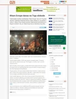 0905 - 021.rs - Ritam Evrope danas na Trgu slobode