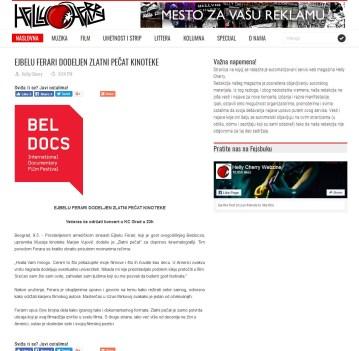 1005 - daily-hc.blogspot.rs - EJBELU FERARI DODELJEN ZLATNI PECAT KINOTEKE