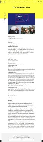 1005 - kcb.org.rs - Otvaranje majskih izlozbi