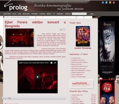 1005 - prolog.rs - Ejbel Ferara odrzao koncert u Beogradu