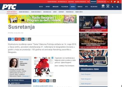 1005 - rts.rs - Ekskluzivno izvodjenje opere Toska - Susretanja