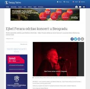 1005 - tanjug.rs - Ejbel Ferara koncert u Beogradu