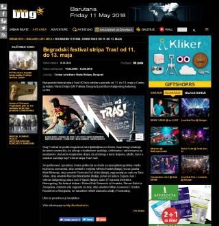 1005 - urbanbug.net - Begradski festival stripa Tras! od 11. do 13. maja