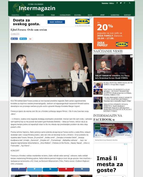 1305 - intermagazin.rs - Ejbel Ferara Ovde sam srecan