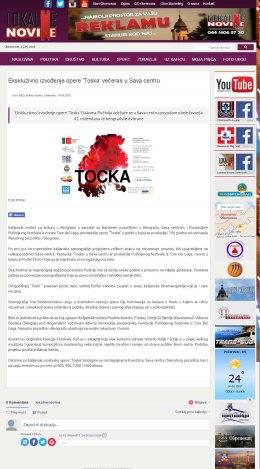 1405 - lokalnenovine.rs - Ekskluzivno izvodjenje opere Toska veceras u Sava centru
