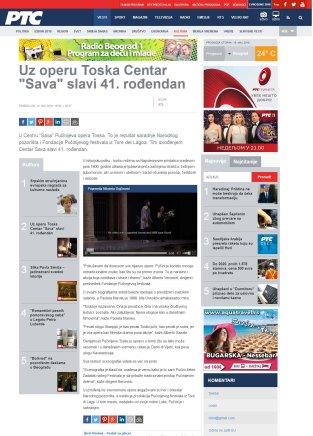 1405 - rts.rs - Uz operu Toska Centar Sava slavi 41. rodjendan
