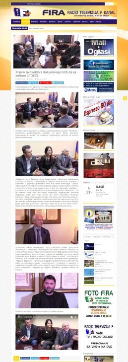 2005 - fira.rs - Prijem za direktora Italijanskog instituta za kulturu